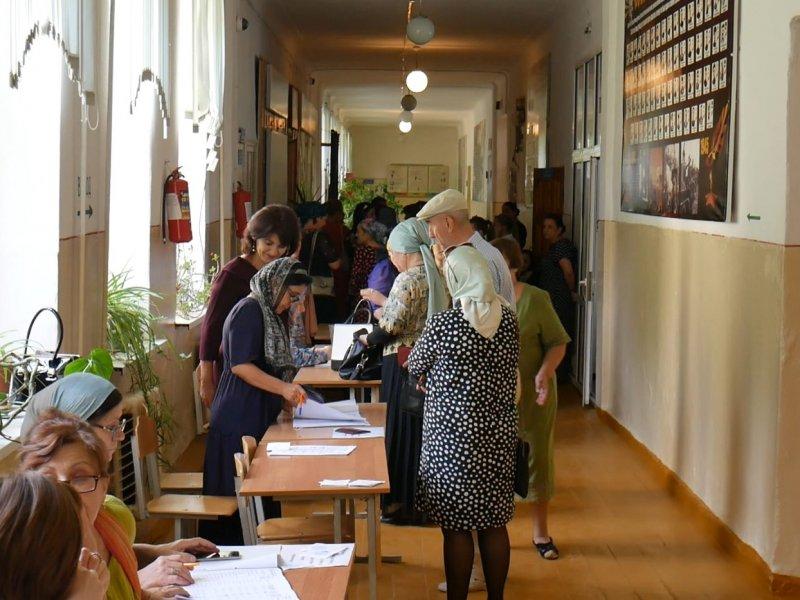 На выборах в Хасавюрте к 18:00 проголосовали около 60% избирателей