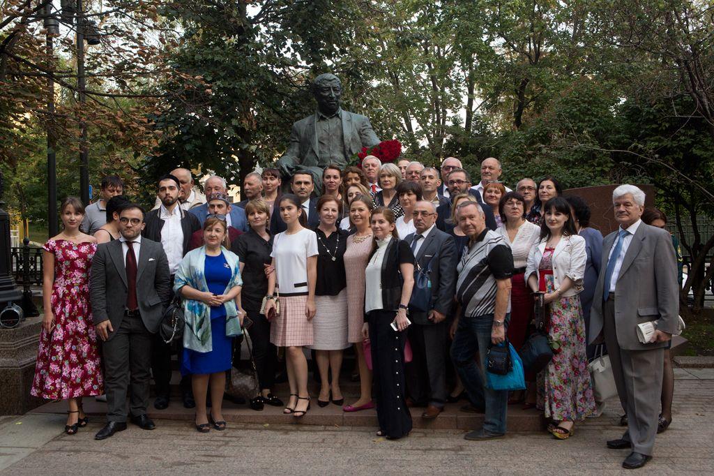 В Москве отметили 95-летие Расула Гамзатова