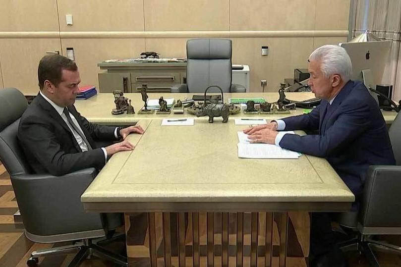 Дмитрий Медведев встретился с Владимиром Васильевым