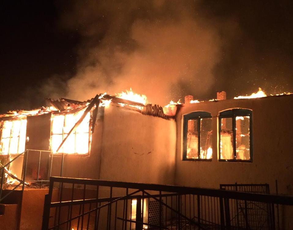 В Кизилюртовском районе сгорела школа