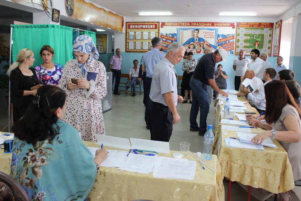 В Избербаше прошли выборы депутатов