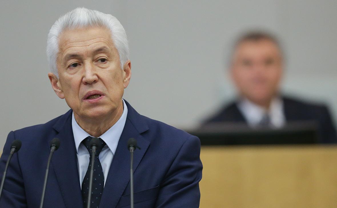 Владимир Васильев: Деньги ФОМС списывали на боевиков, выехавших в Сирию