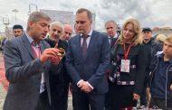 Артем Здунов принимает участие в праздновании 200-летия Грозного