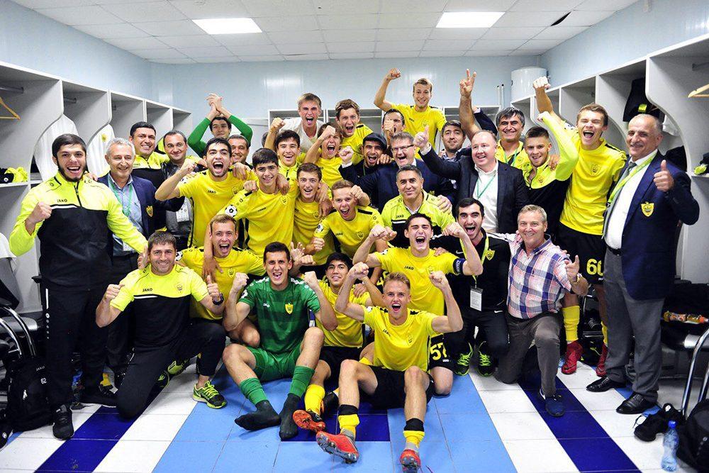 «Анжи» начал с победы в Юношеской лиге УЕФА