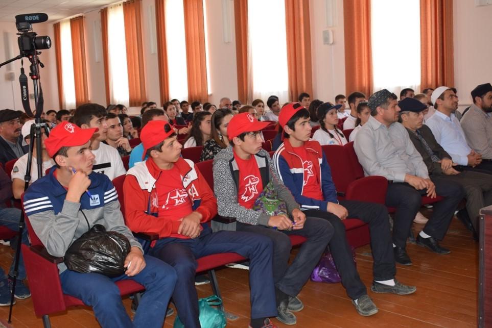 В Дагестане прошел патриотический слет «Помним. Гордимся»