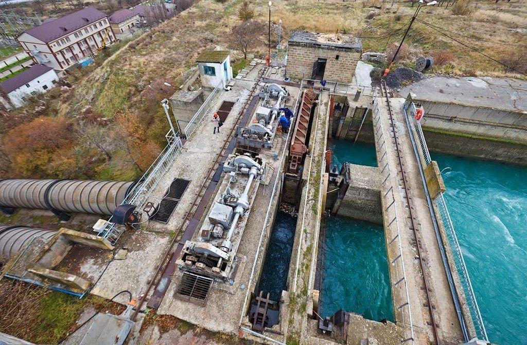 Ремонт на Чирюртской ГЭС завершен досрочно. Отключений воды не будет