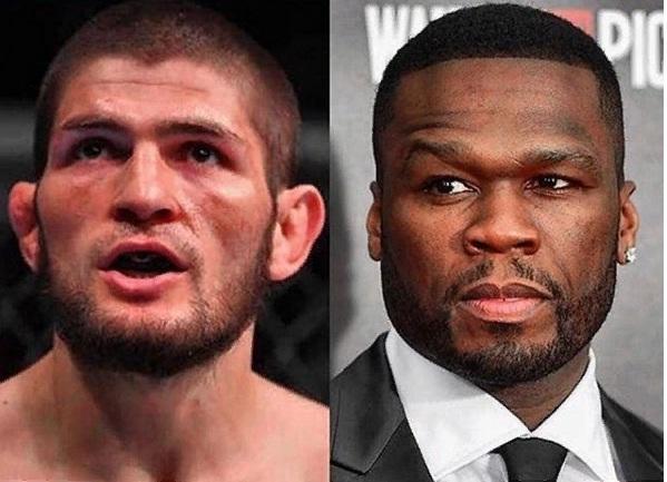 Рэпер 50 Cent приедет в Дагестан на переговоры с Хабибом Нурмагомедовым