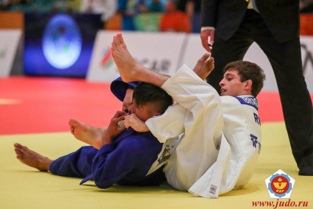 Имам Ибрагимов выиграл медаль юниорского первенства мира по дзюдо