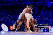 Гаджимурад Рашидов вышел в финал чемпионата мира по вольной борьбе