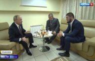 Путин – Хабибу: Главную задачу ты выполнил