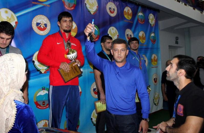 В Буглене завершился Всероссийский турнир по вольной борьбе