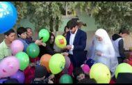 Молодожены из Дагестана устроили праздник для сирот