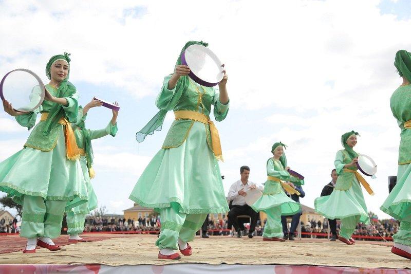 В Мамедкале отпраздновали 97-летие Дербентского района