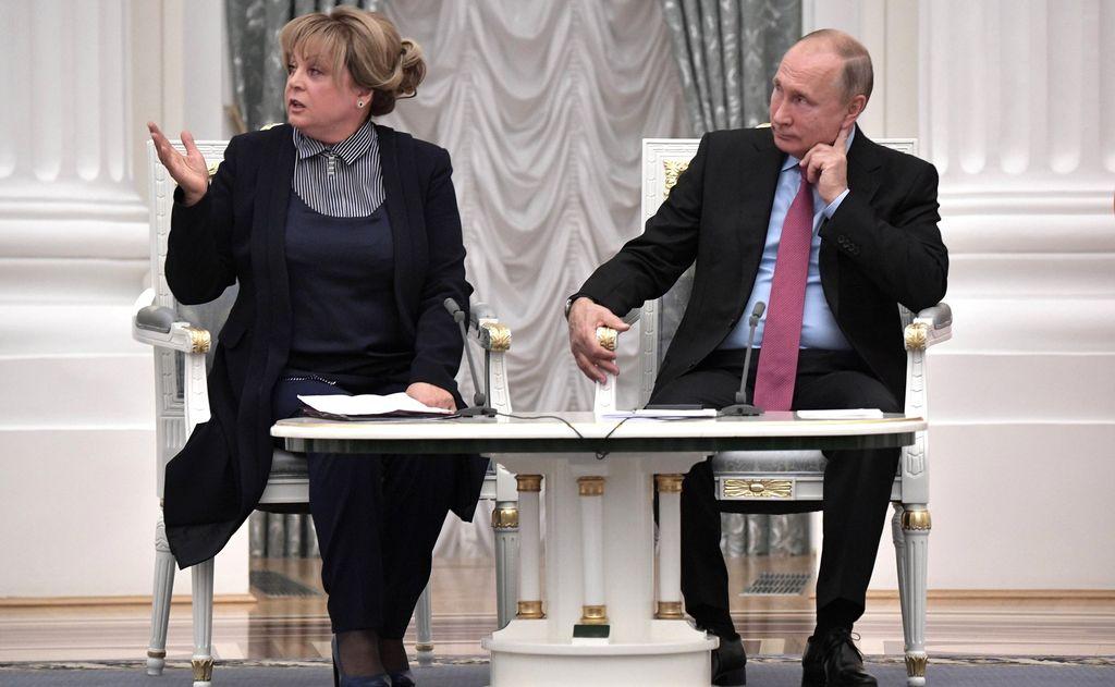 Памфилова обращалась к Путину из-за сложностей с выборами в Дагестане