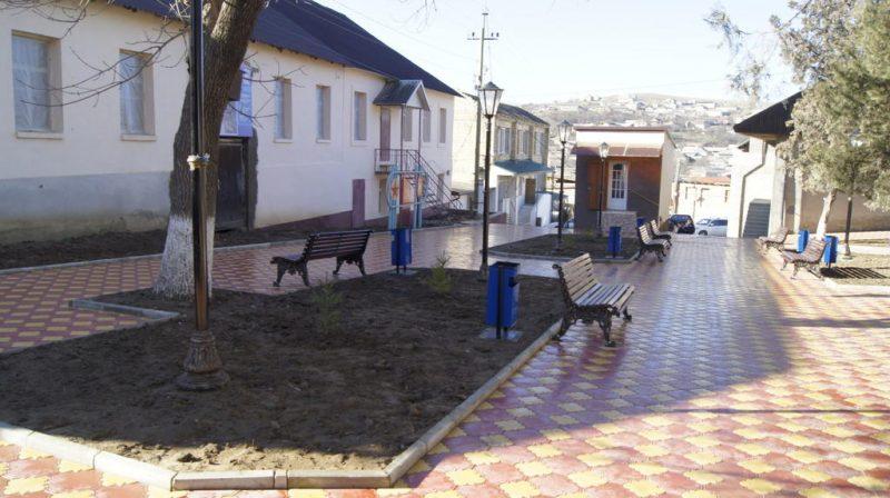 В Нижнем Казанище появилось два новых сквера