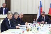 Владимир Васильев и Александр Матовников провели совещание по развитию Дербента