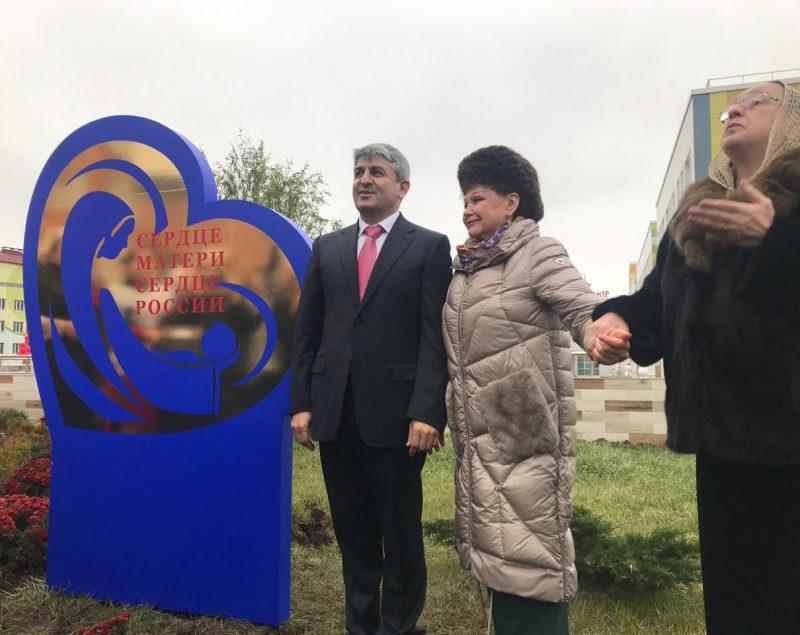 Сенатор Валентина Петренко ознакомилась с работой перинатального центра «Мама Патимат»