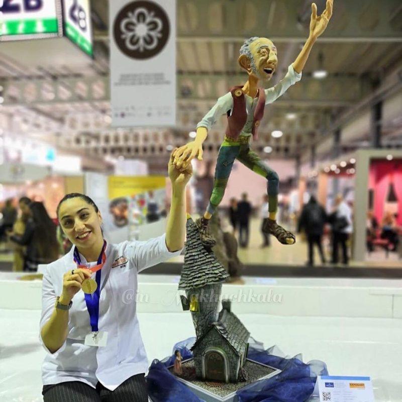 Кондитер из Дагестана победила на чемпионате мира в Люксембурге