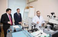 Артем Здунов ознакомился с научной деятельностью ДГУ