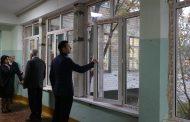 В школе № 3 Каспийска продолжаются ремонтные работы в рамках проекта «100 школ»