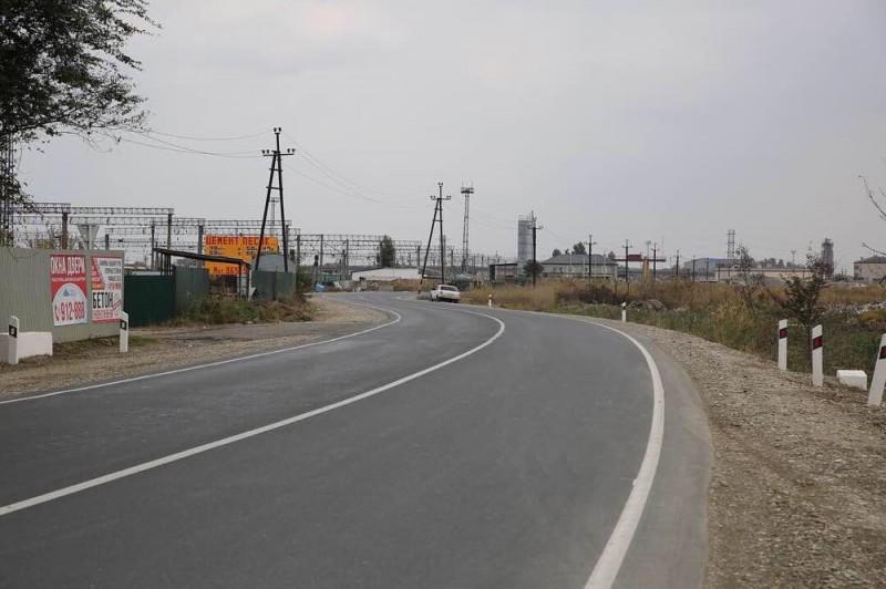 Дорожники завершили ремонт дороги Махачкала – Красноармейское