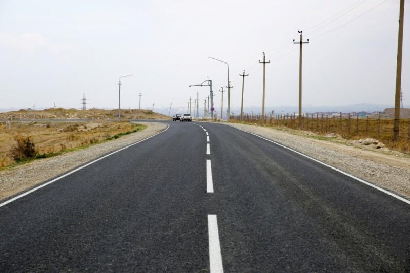 В Махачкале завершен ремонт объездной дороги через поселок Талги