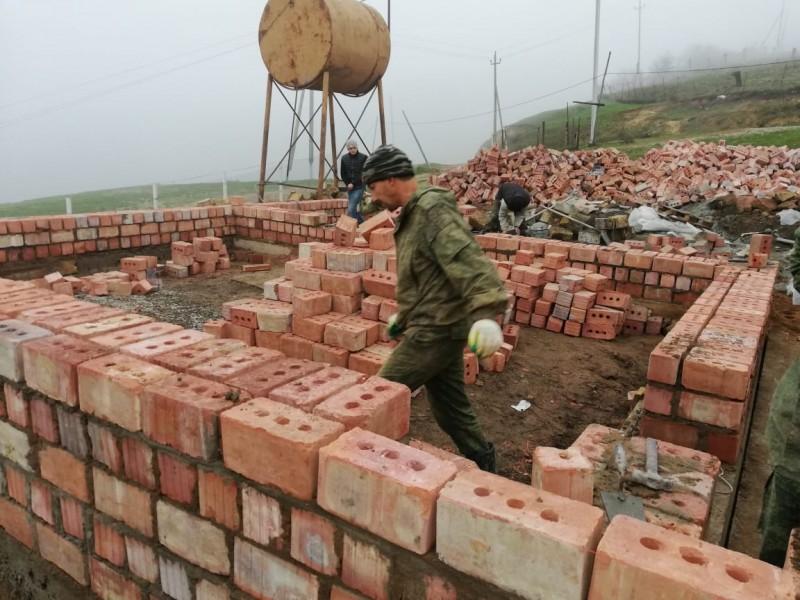 В Джалганской школе Дербентского района идет ремонт по проекту «100 школ»