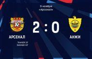 «Арсенал» обыграл «Анжи» в последнем матче Кононова за Тулу