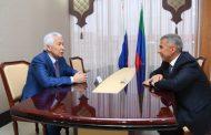 Главы Дагестана и Татарстана обсудили межрегиональное сотрудничество