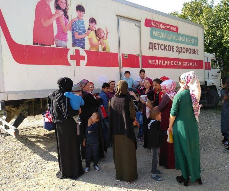 В Дагестане врачи автопоезда «Забота о здоровье» осмотрели почти 13 тысяч человек