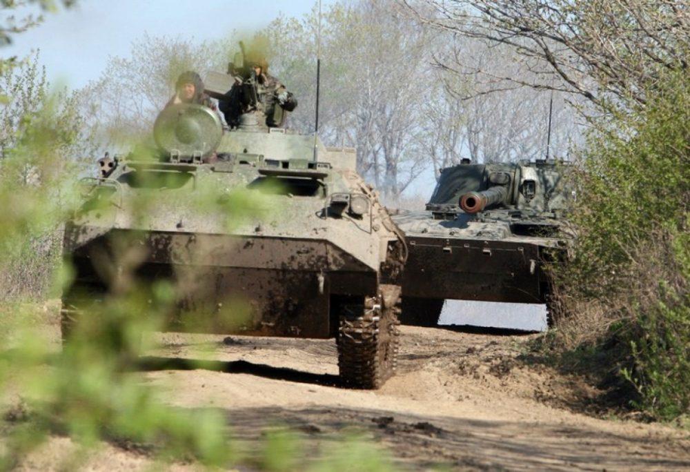 Морские пехотинцы провели первые учения на полигоне в Дагестане