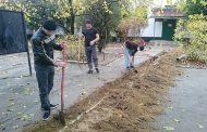 Осужденные из колонии помогли провести водопровод в реабилитационном центре