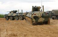 Морские пехотинцы в Дагестане получили десять новых БТР-82А