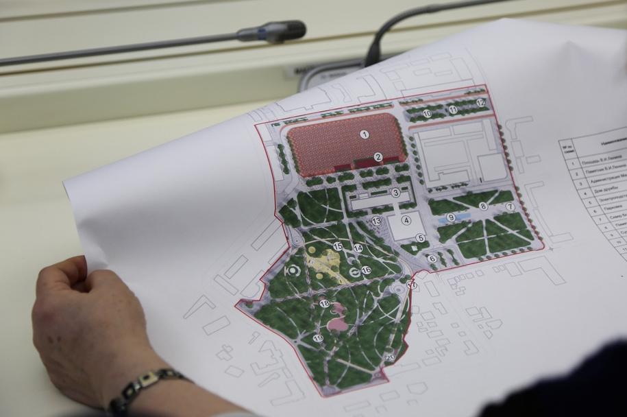В Махачкале представили проект обновления центральной площади
