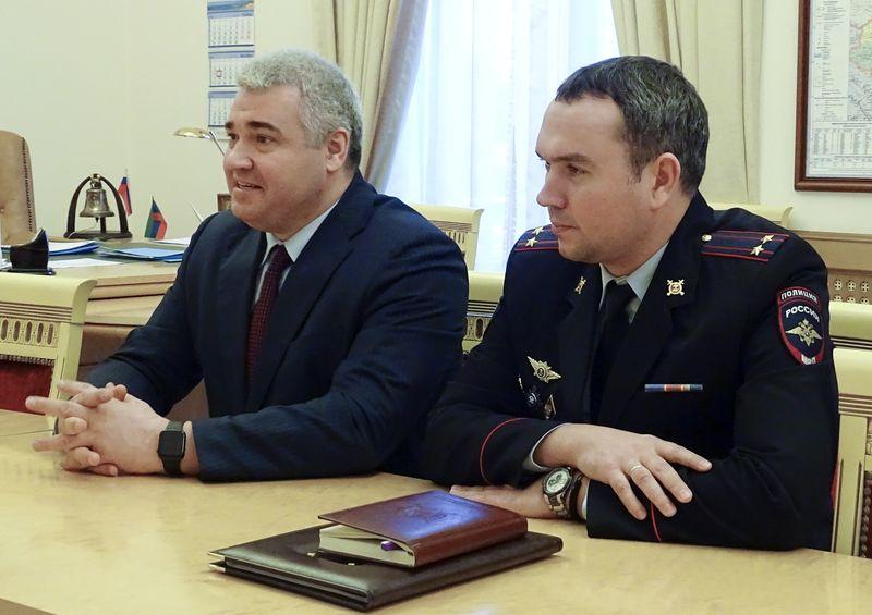 Артему Здунову представили нового руководителя ГИБДД Дагестана