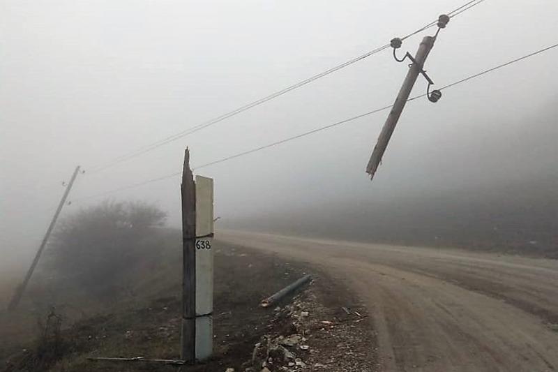 В Дагестане полностью восстановлено электроснабжение