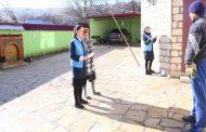 Волонтеры в Дагестане помогают с переходом на цифровое телевещание