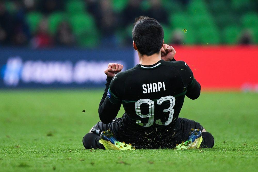 Гол Магомед-Шапи Сулейманова вывел «Краснодар» в 1/8 финала Лиги Европы