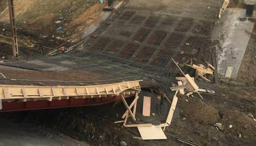 Глава Дагестана потребовал разобраться в ситуации с обрушением моста в Буйнакске