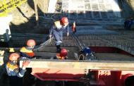В Буйнакске началось восстановление рухнувшего в прошлом году моста