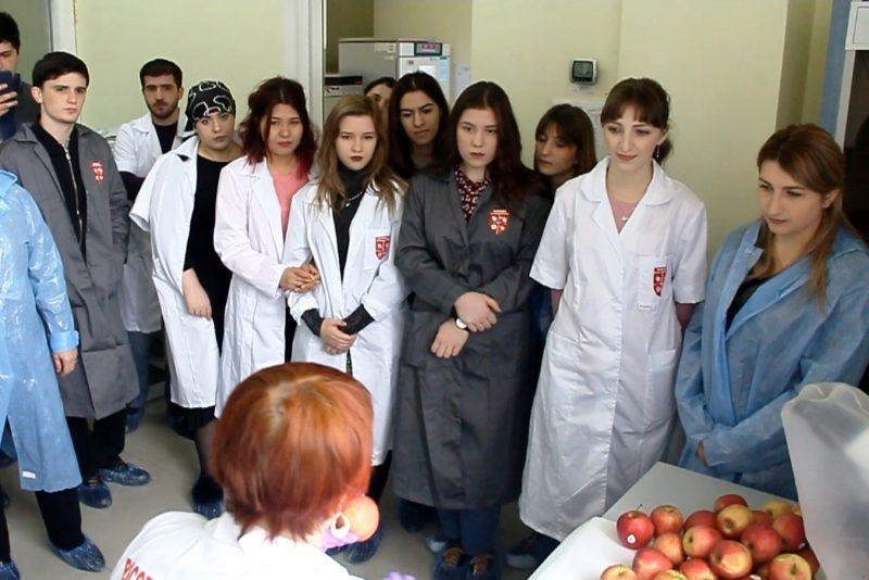 Россельхознадзор Дагестана провел день открытых дверей  для студентов-аграриев