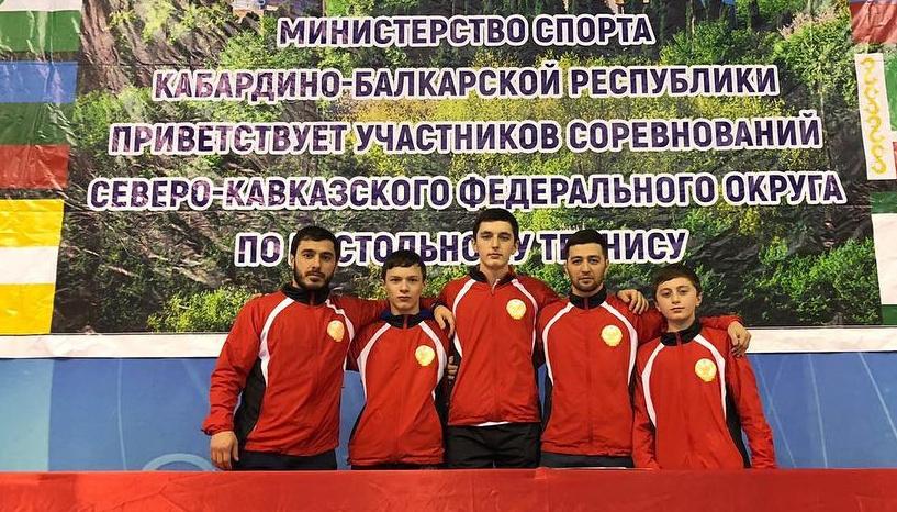 Дагестанские спортсмены завоевали 7 медалей на чемпионате СКФО по настольному теннису