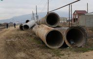 В Семендере началось строительство канализации вдоль КОРа
