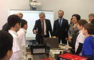 Иван Бортник посетил детский технопарк «Кванториум» в Махачкале