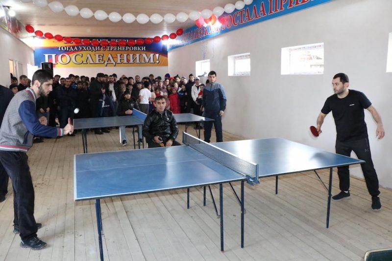 В Казбековском районе появился новый спортзал