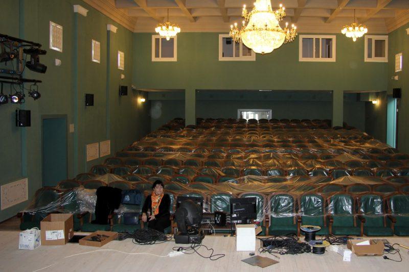 В Избербаше завершается реконструкцияДаргинского театра