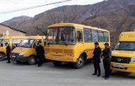 В Цумадинский район поступило 4 школьных автобуса