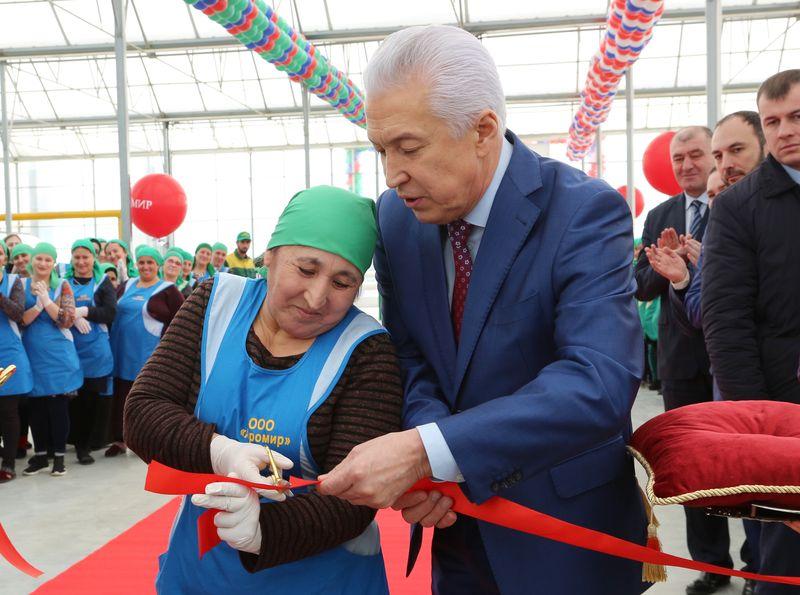 В Ленинкенте открылась вторая очередь комплекса «Агромир»