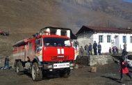 Пожар в школе села Гениятль потушен