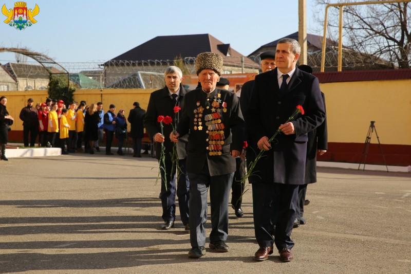Как в Дагестане отмечают День защитника Отечества. Фоторепортаж